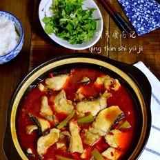 红红火火水煮鱼(微辣少油版)