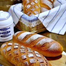 红豆红糖软欧面包!