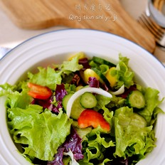 山茶油糖醋蔬菜沙拉!