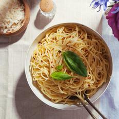 蒜香橄榄油意面