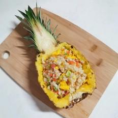 伏天开胃——菠萝五彩炒饭