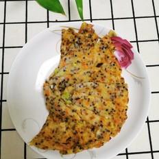 三色藜麦蔬菜煎饼