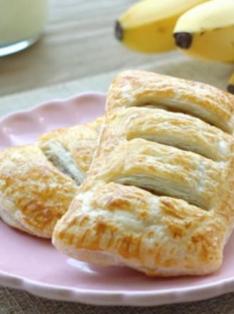 [快厨房] 快手早餐香蕉飞饼的做法