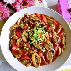 鱼香蘑菇烩茄子