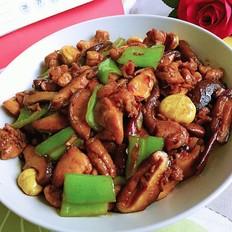 香菇板栗鸡块