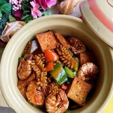 干锅海鲜豆腐