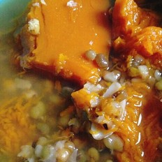 绿豆老南瓜百合汤