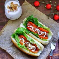 热狗三明治