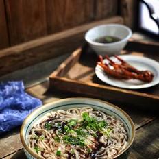 紫菜素汤面