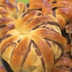 红豆沙面包卷