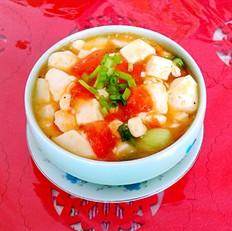 西红柿豆腐羮