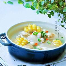 玉米炖猪蹄儿