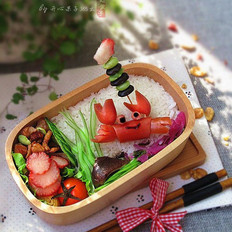 小螃蟹趣味便当