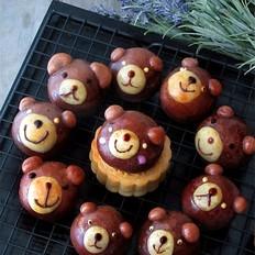 小熊趣味广式月饼