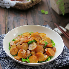 绿豆饼炒青椒