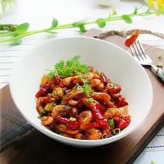 蒜香辣味虾