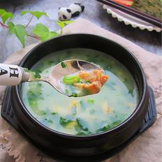河蚌芹菜蛋羹