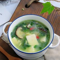 野菜豆腐汤