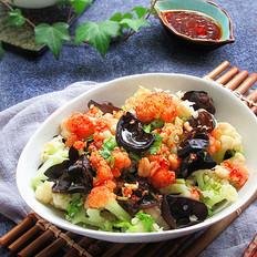 减肥菜——凉拌菜花木耳