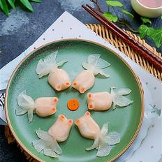 霸王超市|金鱼水晶蒸饺