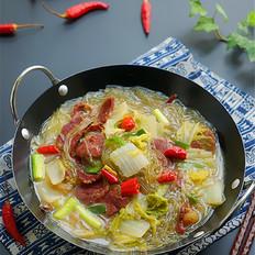 白菜粉条炖牛肉