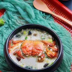 霸王超市丨大闸蟹海鲜养生粥