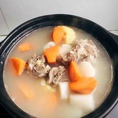 猪骨山药玉米汤