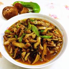香菇炒肉丝