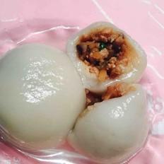 冬笋香菇猪肉汤圆