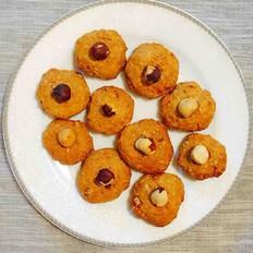 蜂蜜燕麦榛果饼干