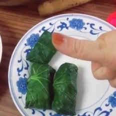 白菜包土豆泥