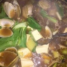 韩式蛤蜊汤