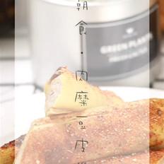 肉糜豆皮卷