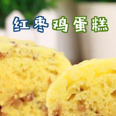 红枣鸡蛋糕