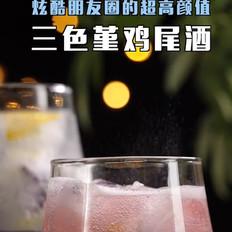 三色堇鸡尾酒