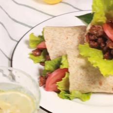 麻辣牛肉卷的做法