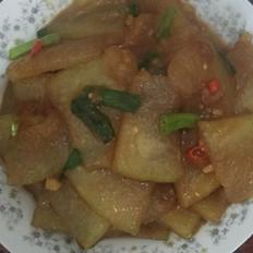 冬瓜炒虾米