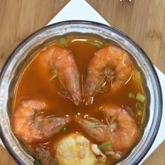 韩式海鲜豆腐汤