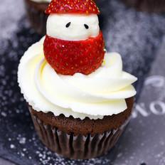 圣诞可可巧克力海绵蛋糕