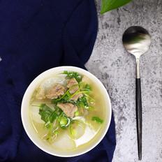 清炖白萝卜羊肉汤