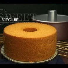 7寸中空模胡萝卜戚风蛋糕