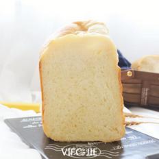 面包机版牛奶吐司
