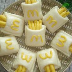 麦当劳薯条馒头