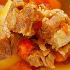 番茄土豆胡萝卜炖牛腩——高压锅版的做法