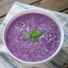 紫薯双米粥