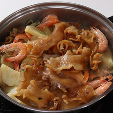 花胶鲜虾鸡煲