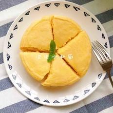 木瓜牛奶蒸蛋糕