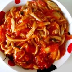 茄汁手撕双菇