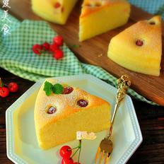 低脂酸奶樱桃蛋糕