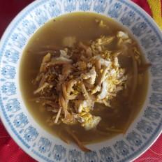 黄花菜鸡蛋汤